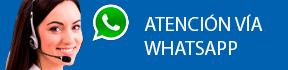 Atención personalizada por whatsapp